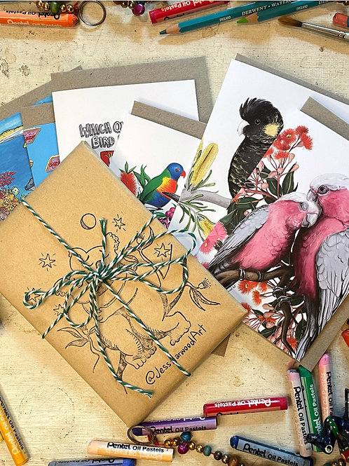 Art pack Greeting Cards