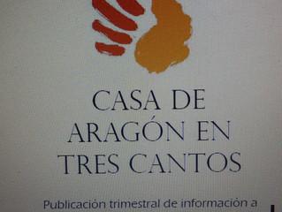 Próxima aparición de la revista de la Casa de Aragón