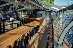 Péniche restaurant à Paris