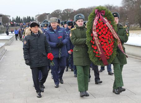 76-ая годовщина полного освобождения Ленинграда от фашистской блокады