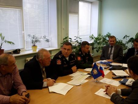 Cелекторное совещание Центрального Совета ДОСААФ России по вопросам подготовки молодёжи по военно-уч