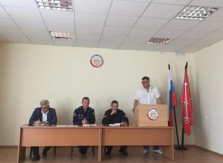 МРО ДОСААФ России Санкт-Петербурга и Ленинградской области провело совещание с командирами юнармейск