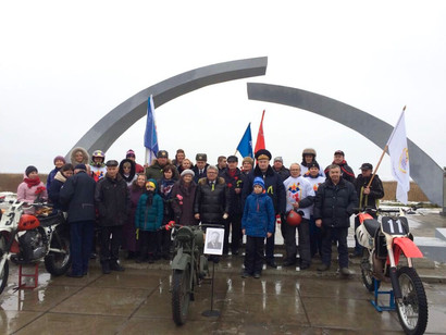 ДОСААФ России совершил мотопробег по Дороге Жизни