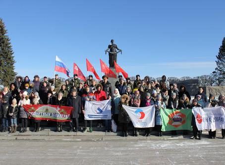 Торжественный митинг в рамках II Всероссийского молодёжно-патриотического Форума «Вечно живые Герои