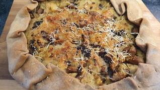 גאלט שיפון עם תפוח אדמה ופטריות