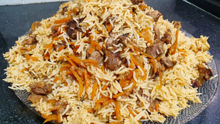 פלוב בוכרי (אושפלוב) - תבשיל אורז ובשר כבש