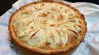 טארט נורמנדי - על טהרת התפוחים (Normandy Apple Pie)