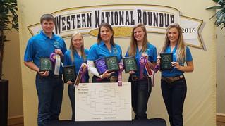 Congratulations South Dakota Horse Quiz Bowl-- 2017 National Western Roundup Champs