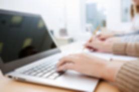 Laptop Writing
