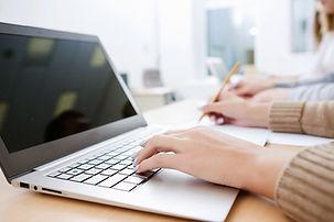 ノートパソコンの書き方