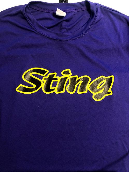 Sting Dri-Fit PURPLE Player Practice Tee