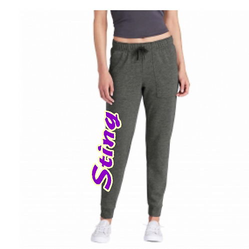 Badger Sports Athletic Fleece Ladies Jogger Pant