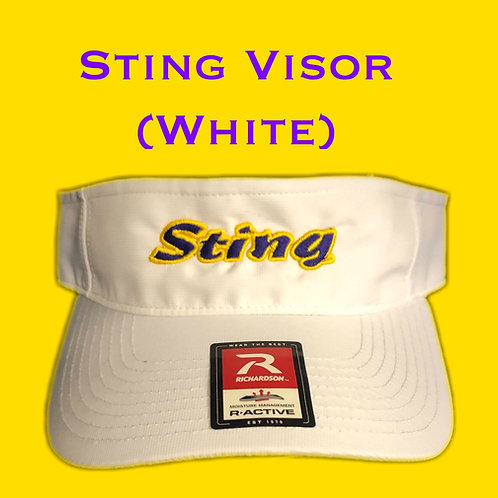 Sting Visor (White)