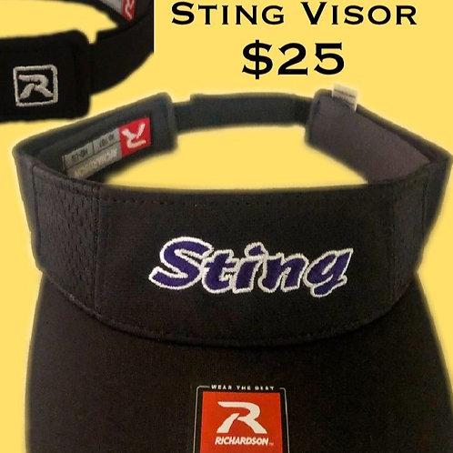 San Jose Sting Visor