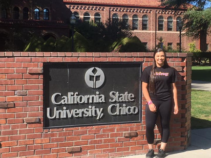Jade Henry is going to Chico!