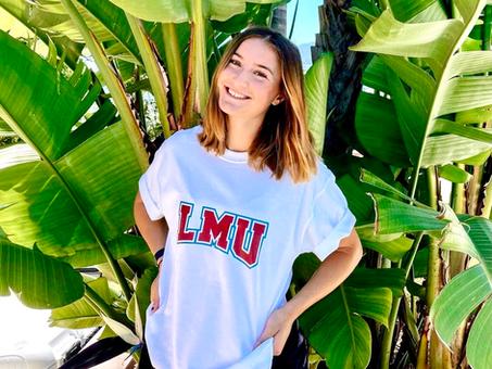 Sydney Poole commits to          Loyola Marymount University!