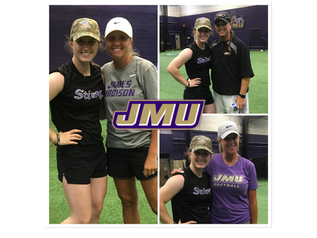2021 Lauren Fulton commits to James Madison!