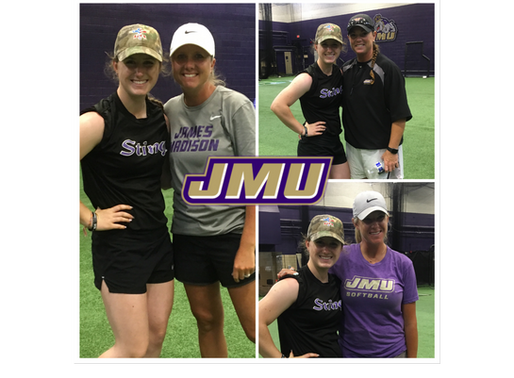 Lauren Fulton commits to James Madison!