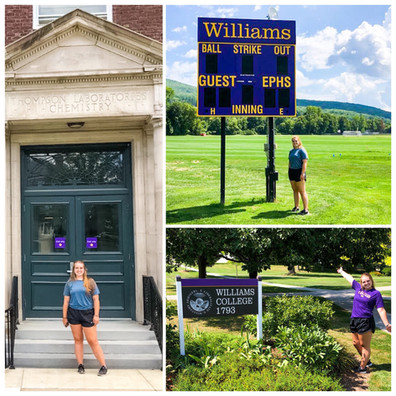 Sydney Fleming is headed East to Williams College!