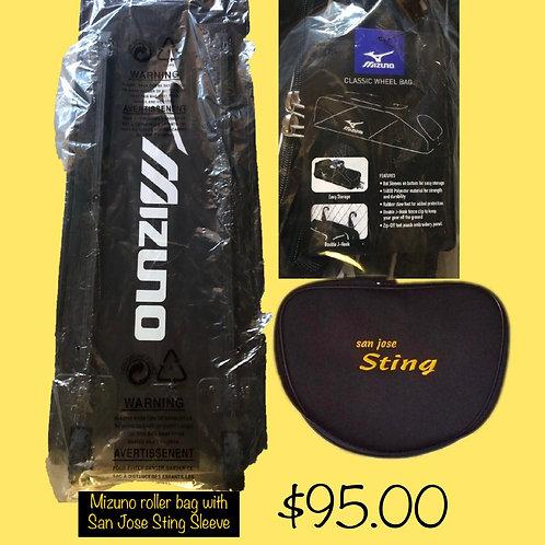 Mizuno Roller Batbag (Black)