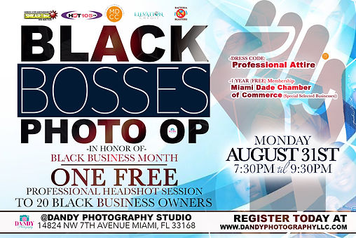 Black Bosses PHOTO OP_ DANDY PHOTOGRAPHY