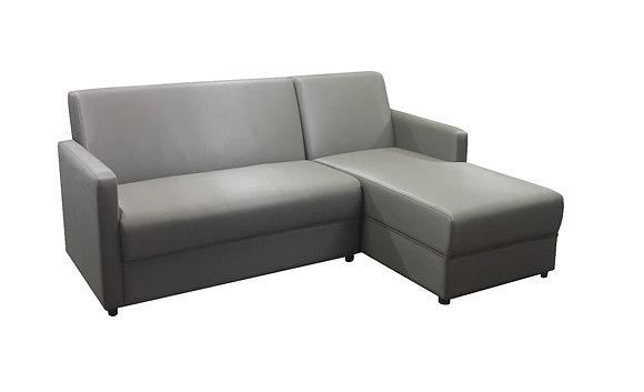 Sofa chaise longue SR09 #หนังPU
