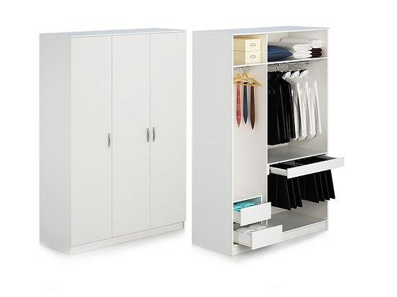 ตู้เสื้อผ้า DW39A-150+TH-10+2DRW