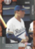charleston rainbows 1992 minor league baseball card player Dave Trembly manager