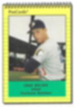 1991 charleston rainbows minor league baseball player Craig Bullock  Infield