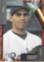 charleston rainbows 1992 minor league baseball card player Saul Soltero Pitcher