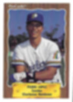 1990 charleston rainbows minor league baseball player Pedro Lopez Catcher