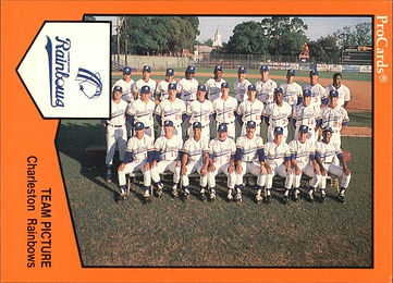 Rainbows team picture 1989 charleston rainbows minor league baseball