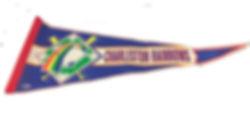 Charleston Rainbows souvenir pennant minor league baseball