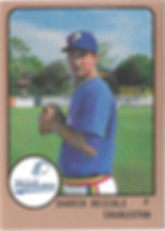 198816.1989 charleston rainbows minor league baseball Darrin Reichle Pitcher
