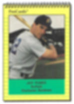 1991 charleston rainbows minor league baseball player jeff pearce outfield