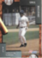 charleston rainbows 1992 minor league baseball card player Greg Mucerino IF
