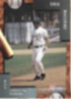 charleston rainbows 1992 minor league baseball card player Greg Mucerino IF