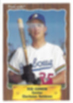 1990 charleston rainbows minor league baseball player Rob Curnow Catcher