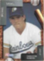 charleston rainbows 1992 minor league baseball card player Michael Grohs  Pitcher