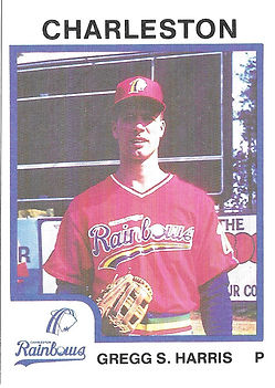 Greg Harris Baseball charleston rainbows
