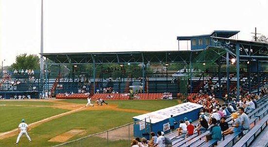 college park stadium charleston rainbows minor league baseball