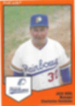 Jack Krol Manager1989 charleston rainbows minor league baseball player