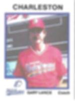 Gary Lance Baseball Coach charleston rainbows minor league