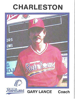Gary Lance Baseball Coach charleston rainbows minor league