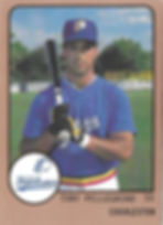 1989 charleston rainbows minor league baseball Tony Pellegrino SS