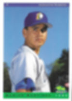 charleston rainbows 1993 minor league baseball card player Ramiro Martinez Pitcher