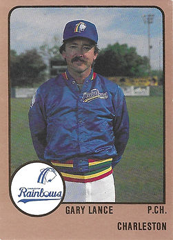 1989 charleston rainbows minor league baseball Gary Lance Pitching Coach