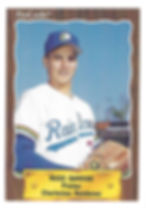 1990 charleston rainbows minor league baseball playerRuss Garside Pitcher
