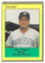 1991 charleston rainbows minor league baseball player Dave Trembley Manager