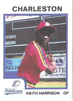 Keith Harrison Baseball charleston rainbows